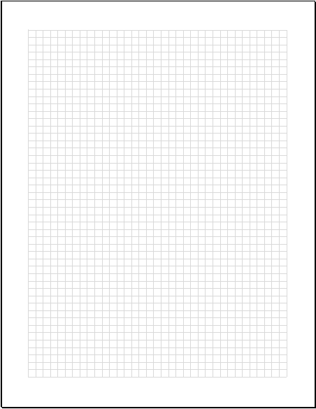 Small medium large box graph papers